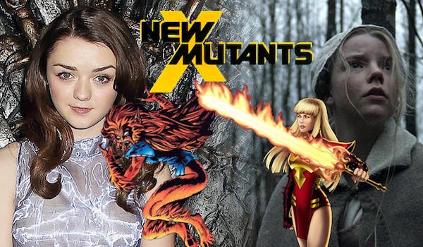 Maisie Williams Anya Taylor-Joy New Mutants