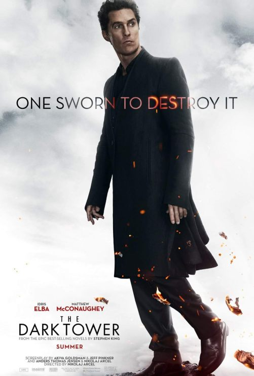 Matthew McConaughey The Dark Tower Movie Poster