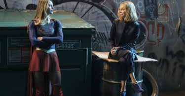 Melissa Benoist Calista Flockhart Resist Supergirl