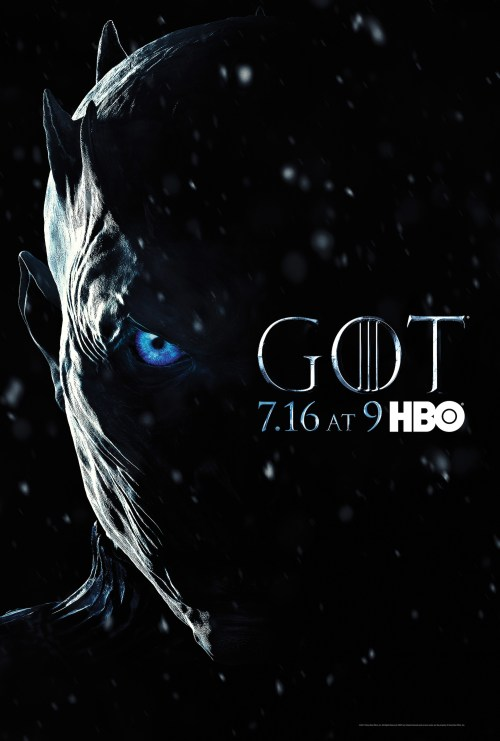 Night King Game of Thrones: Season 7 TV Show Poster