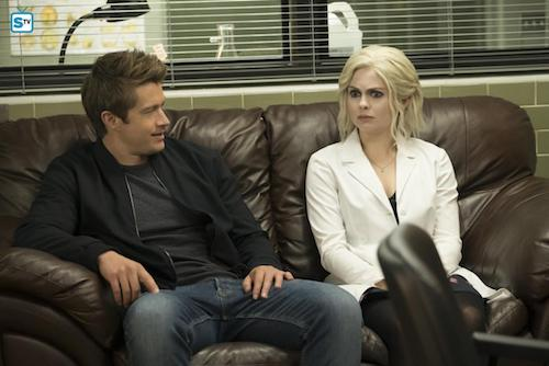 Robert Buckley Rose McIver Dirty Nap Time iZombie