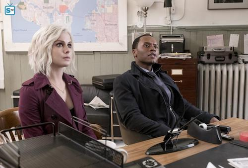 Rose McIver Malcolm Goodwin Dirty Nap Time iZombie