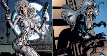 Silver Sable Black Cat Comic