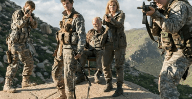 Daniel Sharman Kim Dickens Fear the Walking Dead Burning in Water Drowning in Flame
