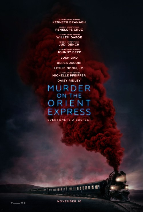 Murder on the Orient Express Entertainment Weekly Movie Poster