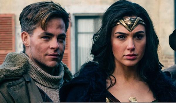 Chris Pine Gal Gadot Wonder Woman
