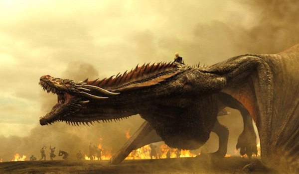 Emilia Clarke Drogon Game of Thrones: Season 7