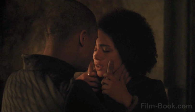 Jacob Anderson Nathalie Emmanuel Game of Thrones Stormborn