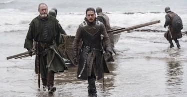 Liam Cunningham Kit Harington Game of Thrones The Queen's Justice