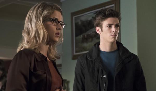Emily Bett Rickards Grant Gustin Arrow