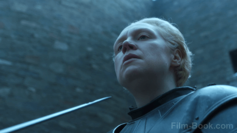 Gwendoline Christie Needle Game of Thrones The Spoils of War