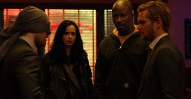 Mike Colter Charlie Cox Krysten Ritter Finn Jones The Defenders