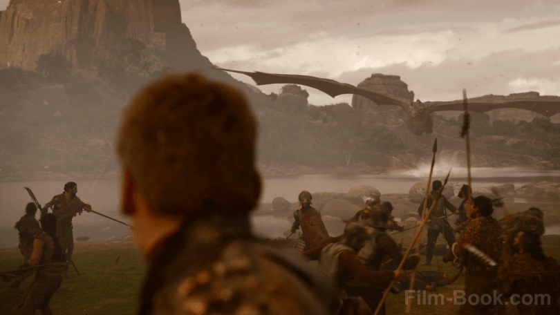 Nikolaj Coster-Waldau Drogon Game of Thrones The Spoils of War