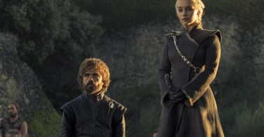 Peter Dinklage Emilia Clarke Game of Thrones Eastwatch