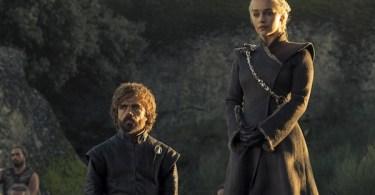 Peter Dinklage Emilia Clarke Game of Thrones Eastwatch
