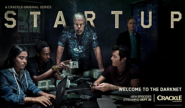 STARTUP: Season 2 TV Show Trailer: Ron Perlman Helps to Create a Criminal Darknet [Crackle]