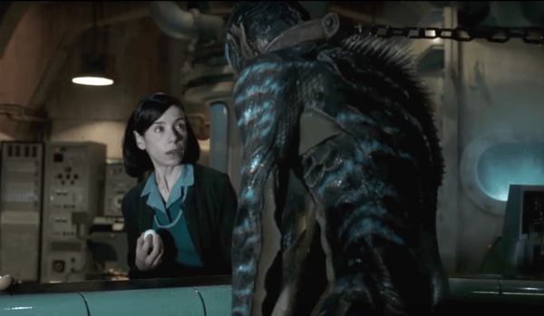 Sally Hawkins Doug Jones The Shape of Water