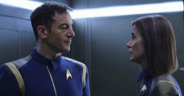 Jason Isaacs Jayne Brook Star Trek Discovery