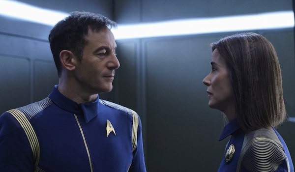 Jason Isaacs Jayne Brook Star Trek Discovery