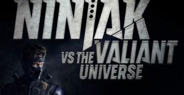 Michael Rowe Ninjak vs the Valiant Universe
