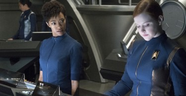 Sonequa Martin-Green Mary Wiseman Star Trek: Discovery