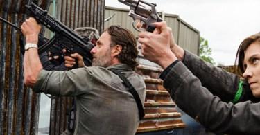 Andrew Lincoln Lauren Cohan Khary Payton The Walking Dead Mercy