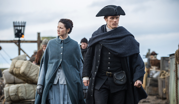 Caitriona Balfe Sam Heughan Outlander The Doldrums