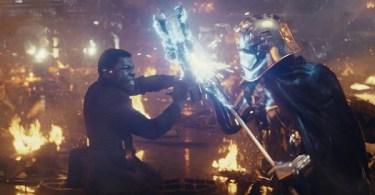 Gwendoline Christie John Boyega Star Wars: The Last Jedi