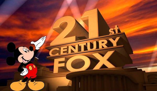 Mickey Mouse 21st Century Fox Logo