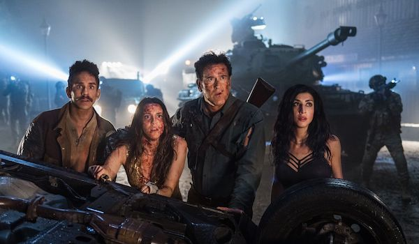 Ray Santiago Arielle Carver-O'Neill Bruce Campbell Dana DeLorenzo Ash vs Evil Dead: Season 3