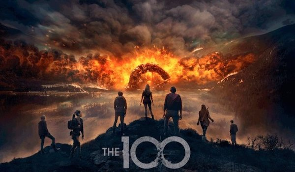 The 100 Season 4 TV Show Poster