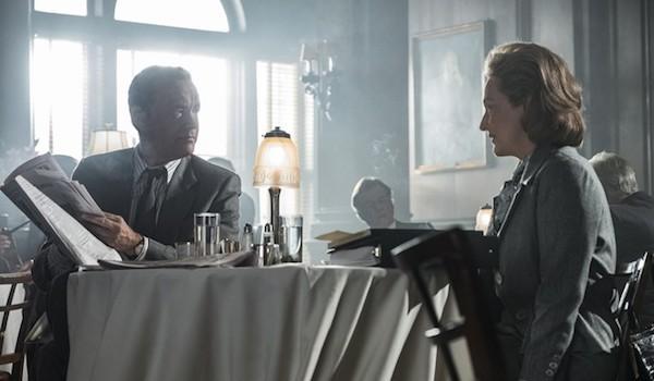 Tom Hanks Meryl Streep The Post