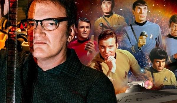 Quentin Tarantino William Shatner Leonard Nimoy George Takei