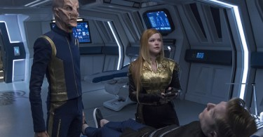 Doug Jones Anthony Rapp Mary Wiseman Star Trek Discovery