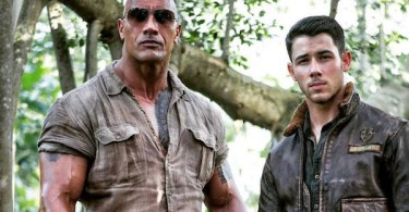 Dwayne Johnson Nick Jonas Jumanji: Welcome to the Jungle