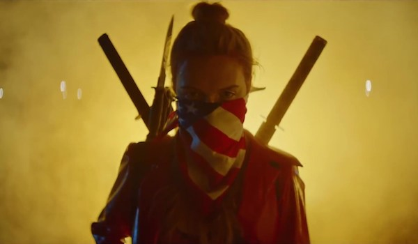 "ASSASSINATION NATION (2018) Teaser Trailer: Slay'em High Students Believe ""We're Gun People"""