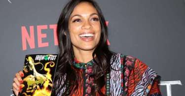Rosario Dawson Iron Fist Netflix TV Series Premiere