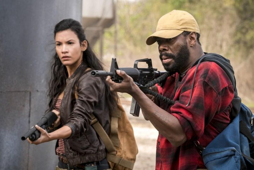 Danay Garcia Colman Domingo Fear the Walking Dead Season 4 Episode 2