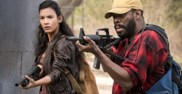 Danay Garcia Colman Domingo Fear the Walking Dead Season 4 Episode 2