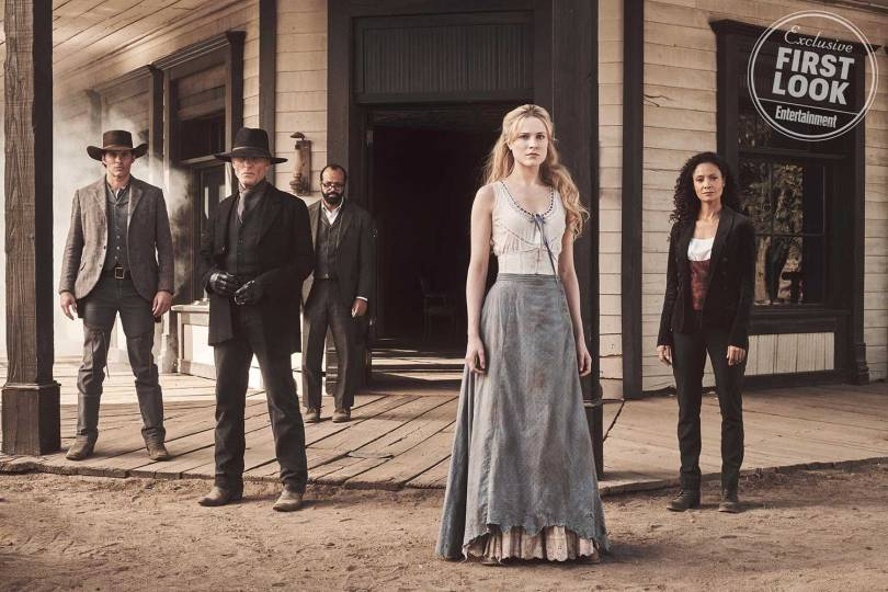Evan Rachel Wood James Marsden Ed Harris Thandie Newton Jeffrey Wright Westworld Season 2