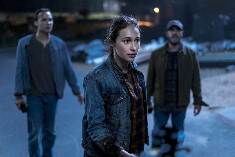 Frank Dillane Alycia Debnam-Carey Fear the Walking Dead Season 4 Episode 4