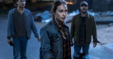Frank Dillane Alycia Debnam-Carey Fear the Walking Dead Season 4 Episode 4