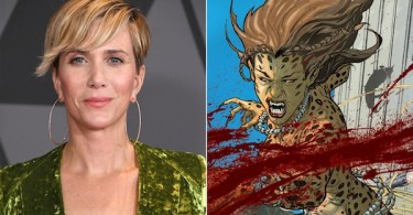 Kristen Wiig Cheetah Comic Book