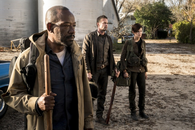 Lennie James Maggie Grace Garret Dillahunt Fear the Walking Dead Season 4 Episode 3