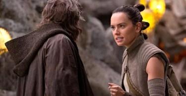 Mark Hamill Daisy Ridley Star Wars The Last Jedi