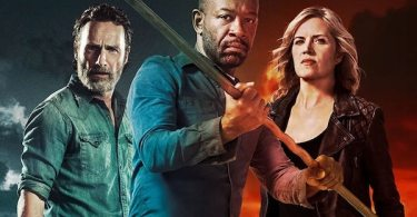 The Walking Dead Season 8 Finale Fear the Walking Dead Season 4 Crossover TV Show Poster