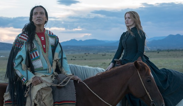 WOMAN WALKS AHEAD (2017) Movie Trailer: Jessica Chastain Paints Chief Sitting Bull