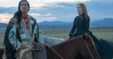 Jessica Chastain Michael Greyeyes Woman Walks Ahead