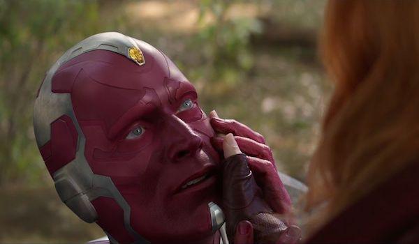 Paul Bettany Elizabeth Olsen Avengers Infinity War