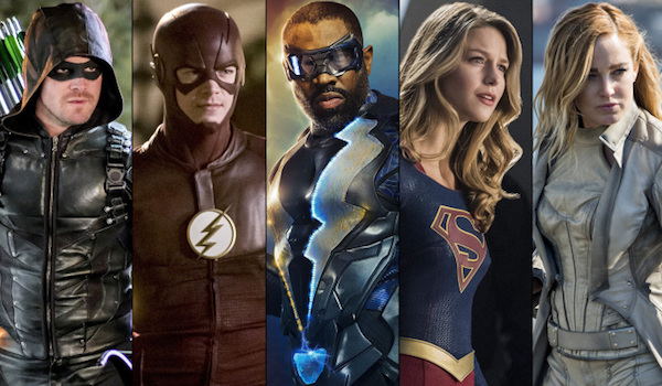 Stephen Amell Grant Gustin Cress Williams Melissa Benoist Caity Lotz